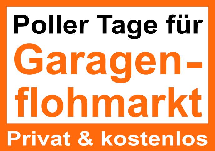 Poller Tage für Garagenflohmarkt